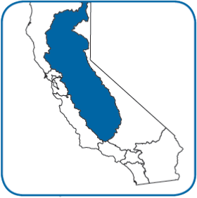 About Us Central Valley Regional Water Quality Control Board - Central-valley-on-us-map