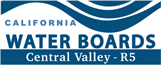 logo for California Water Boards, Central Valley - R5