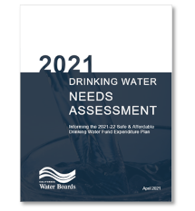 Cover of 2021 Drinking Water Needs Assessment Report