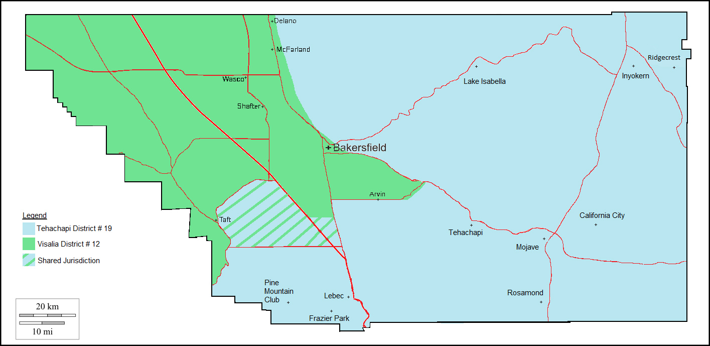 Drinking Water Field Operations Branch Districts - Tehachapi ...