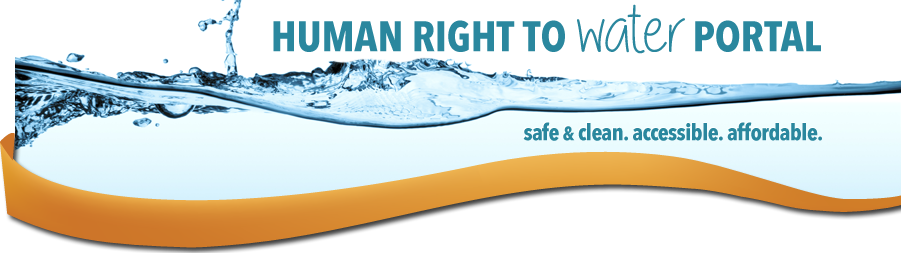 Human Right to Water Banner