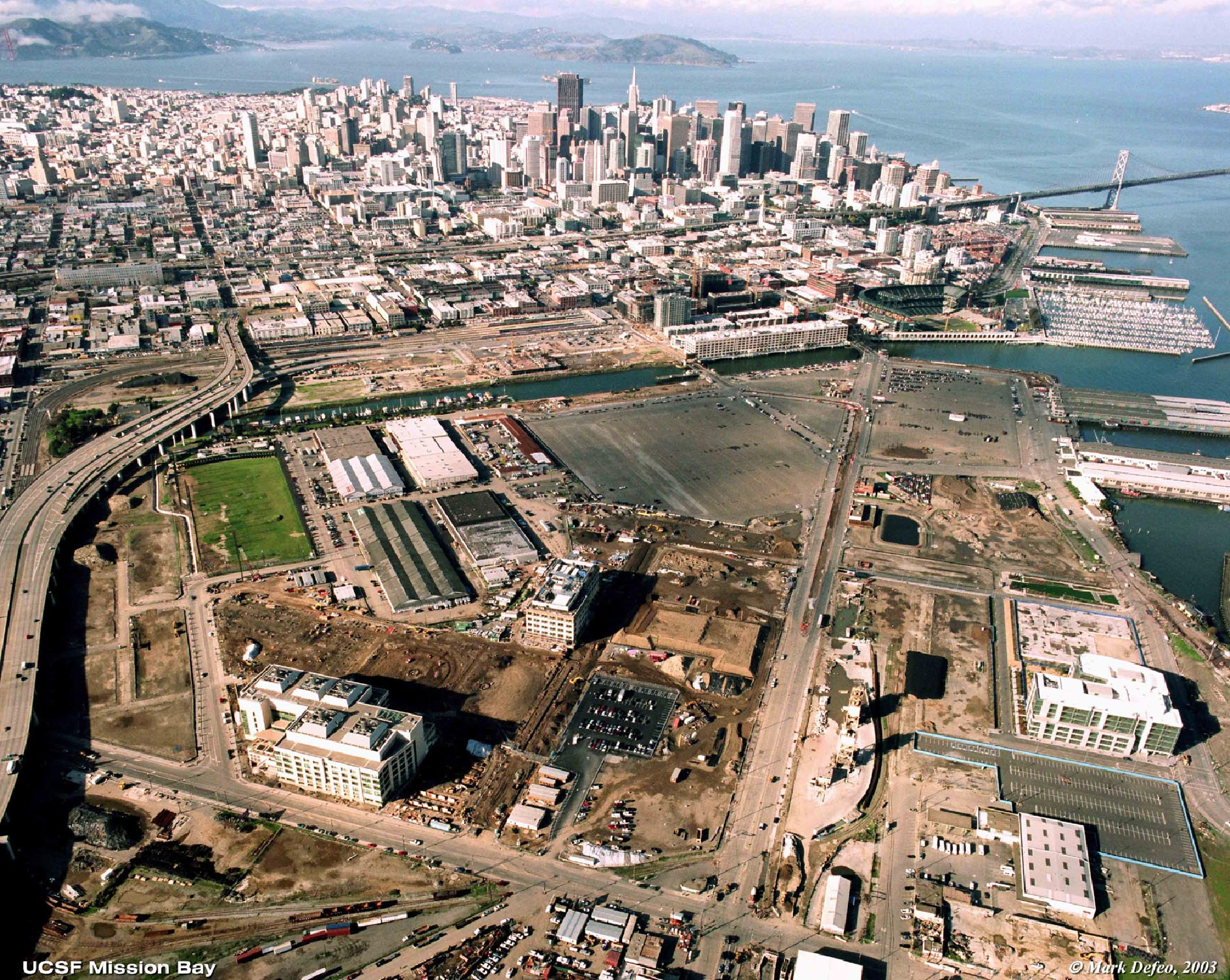 Mission Bay Brownfield Site in San Francisco