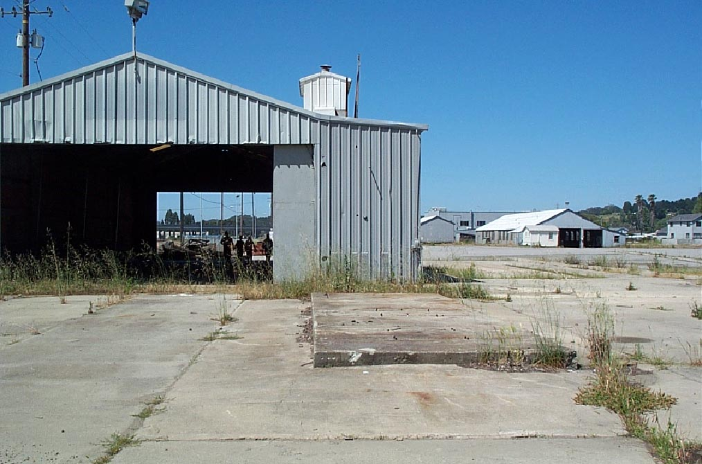 San Pablo Brownfield Site before Development