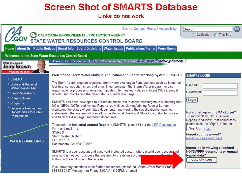 Image of SMARTS Login