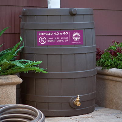 Purified Recycled water barrel thumbnail