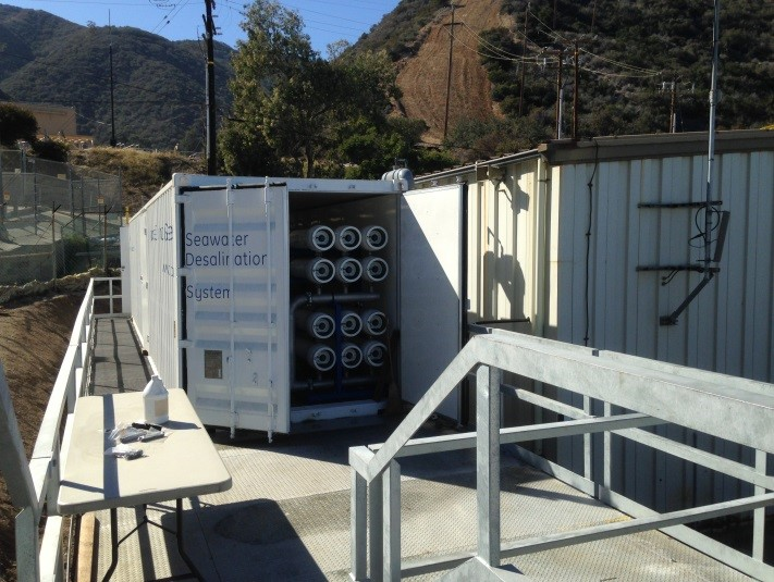 SCE's  Portable Desalination Unit on Catalina Island