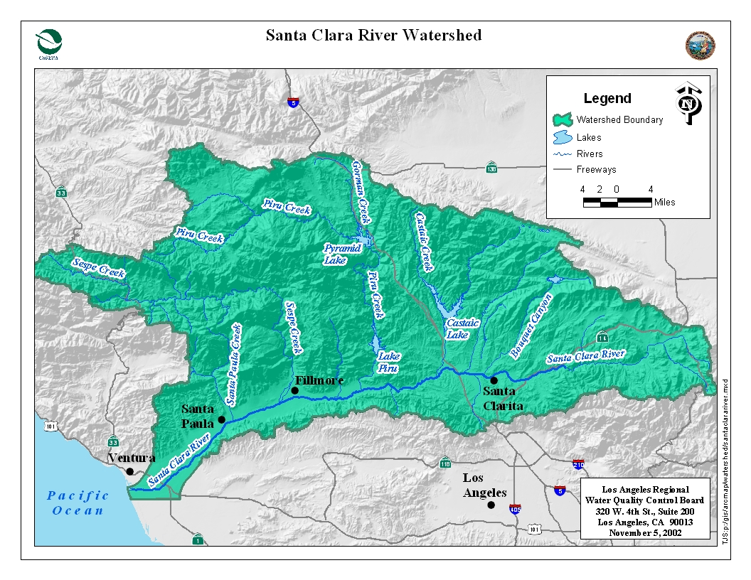 State Water Resources Control Board Los Angeles - Los angeles california map pdf