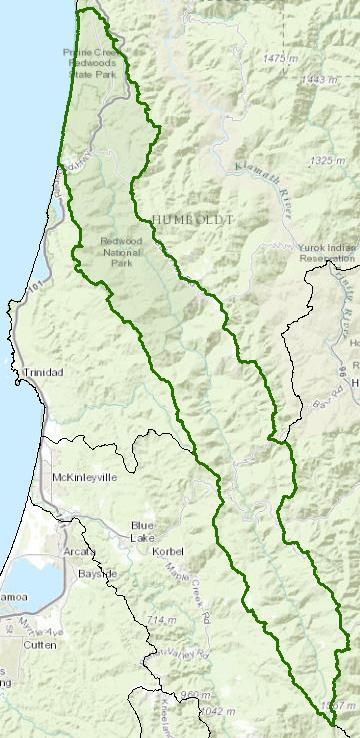 Redwood Creek California Northcoast Regional Water Quality Control