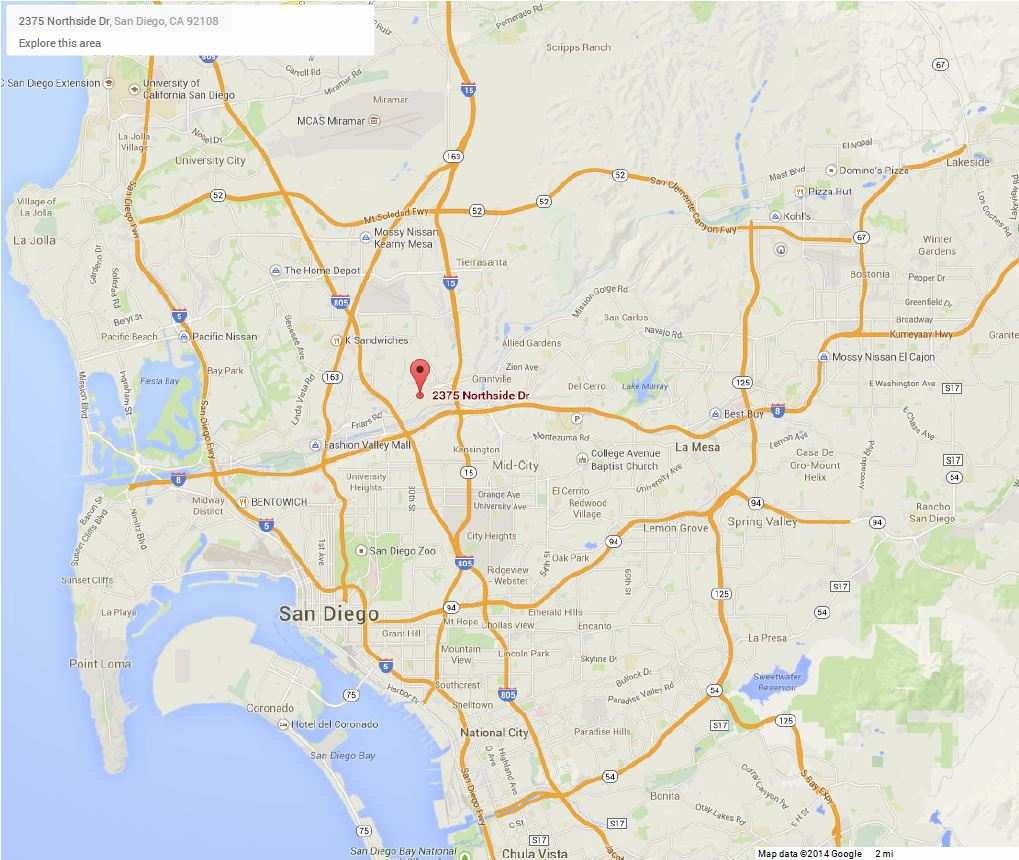 Contact Us San Diego Regional Water Quality Control Board - San diego on us map