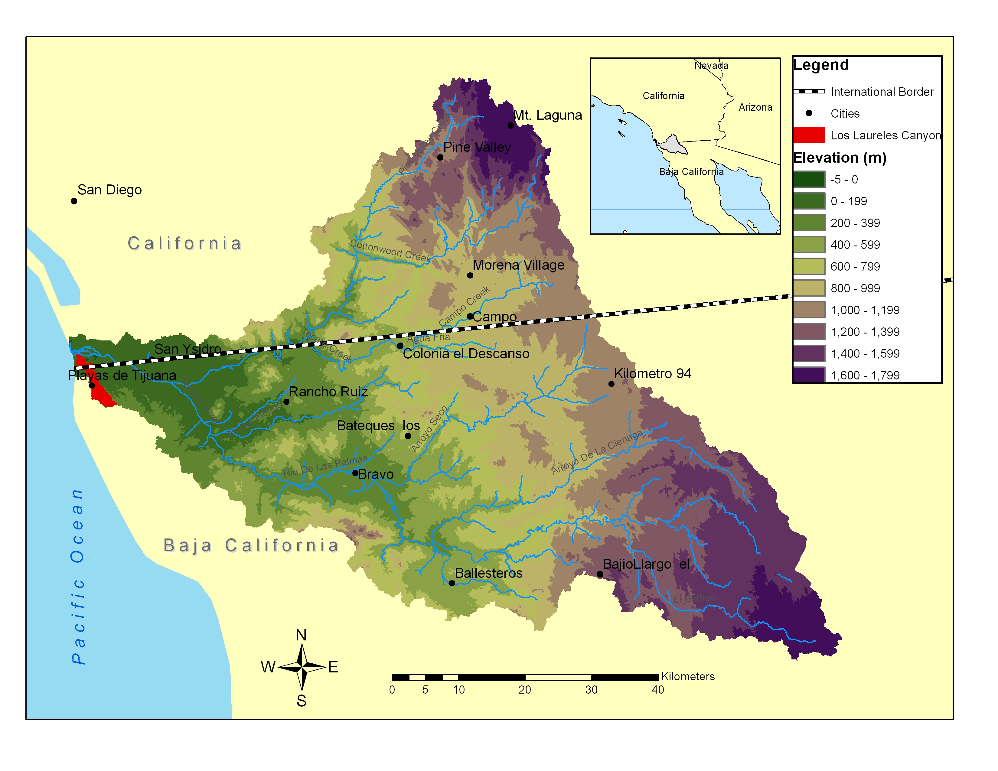Sewage Pollution Within The Tijuana River Watershed San Diego - Map of water quality in us