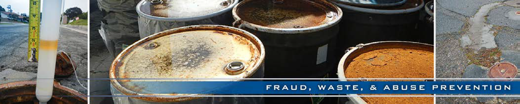 Fraud, Waste and Abuse Prevention Unit Banner