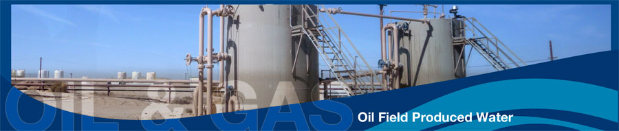Oil and Gas Banner - Oil Field Produced Water