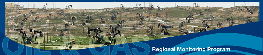Oil and Gas Banner - Regional Monitoring Program